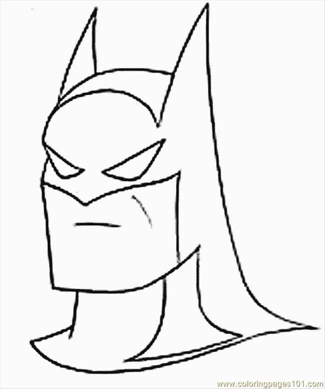 Batman Coloring.sheet Coloring Page - Free Batman Coloring Pages ...