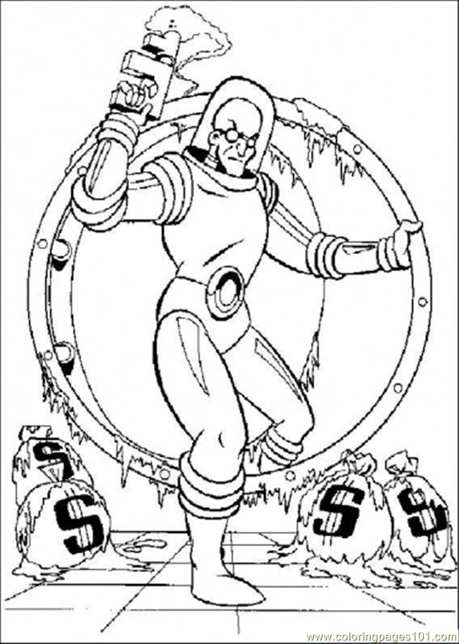 Crime For Money Coloring Page