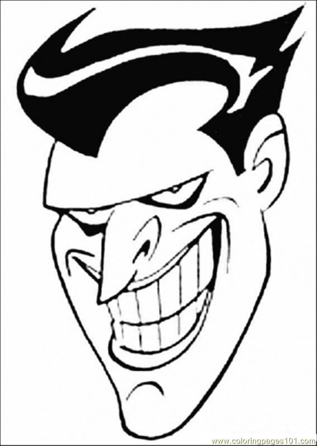 Free Joker Coloring Pages From Batman, Download Free Clip Art ... | 912x650