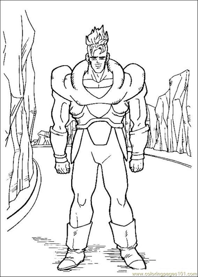 Gon Ball Z Coloring Pages 002 Coloring Page