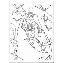 Batman Coloring Pages  4590