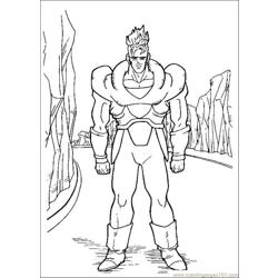 Gon Ball Z Coloring Pages 002