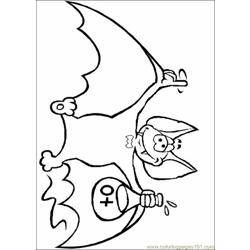 Bats Coloring Pages 003