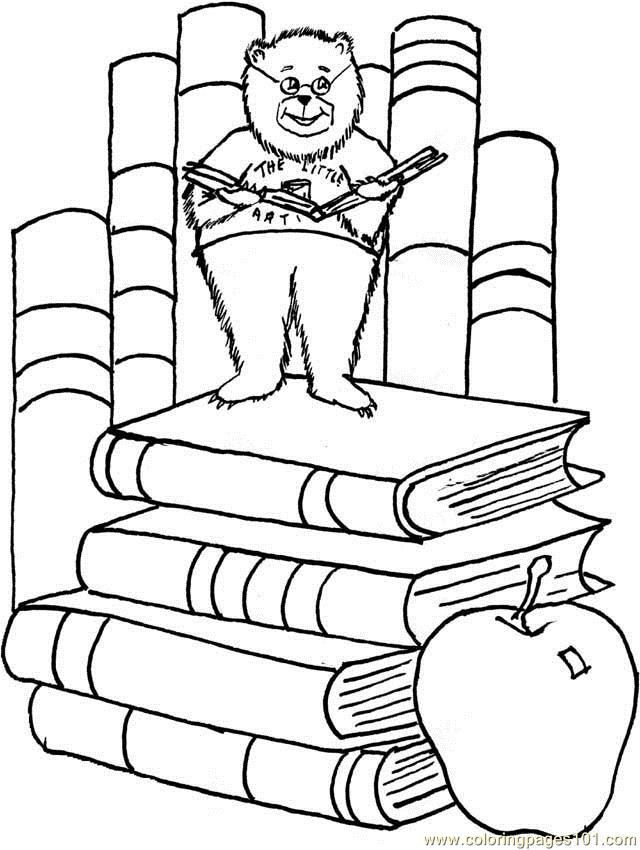 Blackpaintbear2 Coloring Page