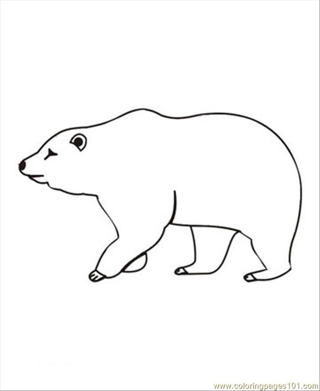 Bear08 Coloring Page