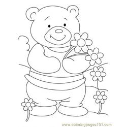 Bear Coloring Page10
