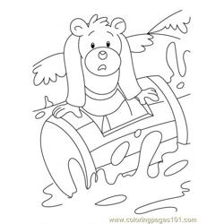 Bear Coloring Page2