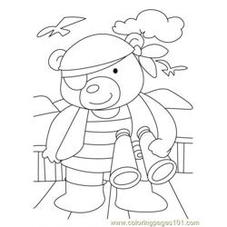 Bear Coloring Page5