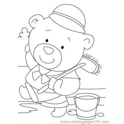 Bear Coloring Page6