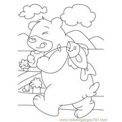 Bear Coloring Page7