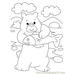 Bear Coloring Page8