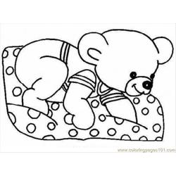 Normal Bear  59 Free Coloring Page for Kids