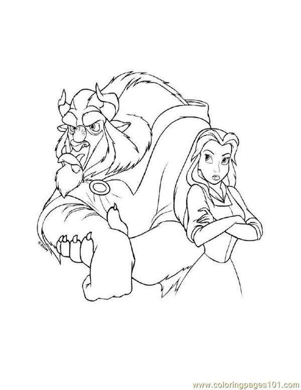 001 Beauty 56 Coloring Page