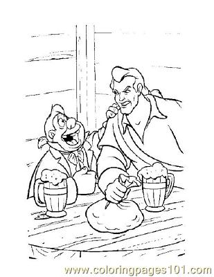 Beauty 13 Coloring Page