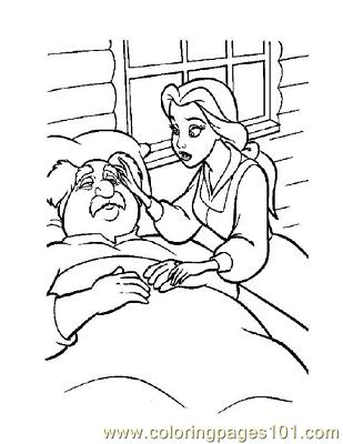 Beauty 40 Coloring Page