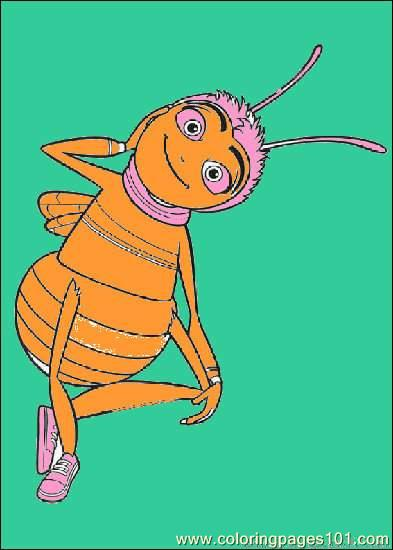 Bee Movie03 Coloring Page