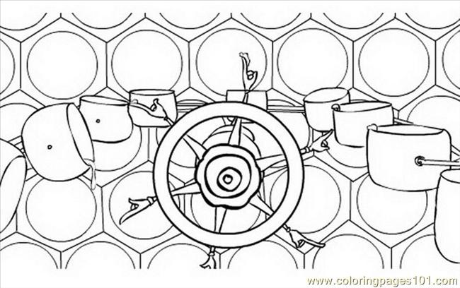 Bee Movie 02 Coloring Page