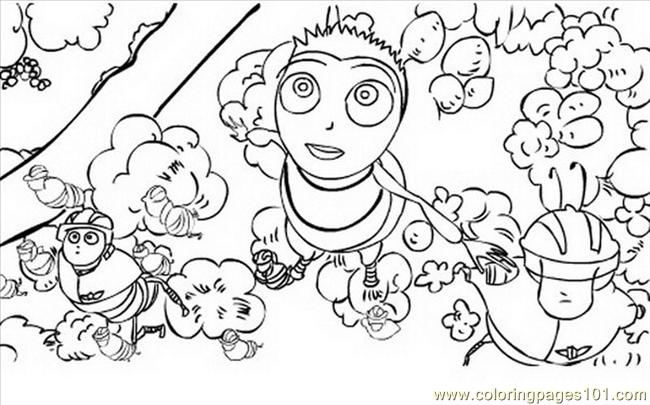 Bee Movie 04 Coloring Page