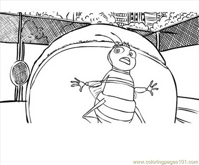 Bee Movie 07 Coloring Page