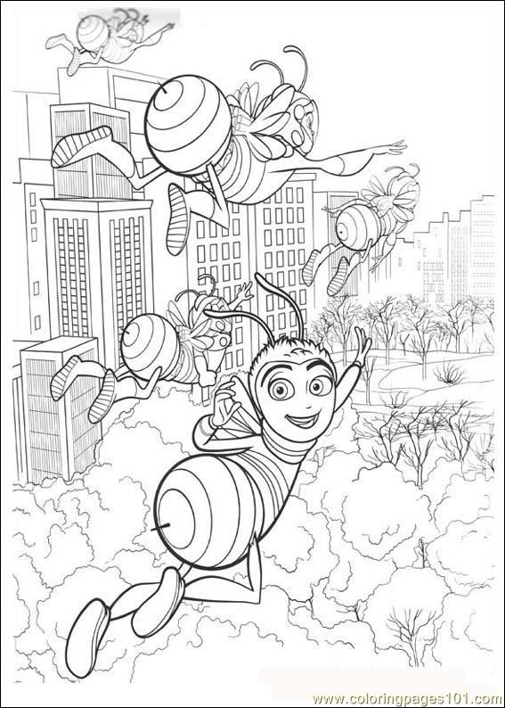 Bee Movie10 Coloring Page