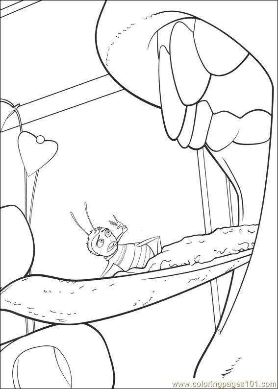 Bee Movie 18 Coloring Page