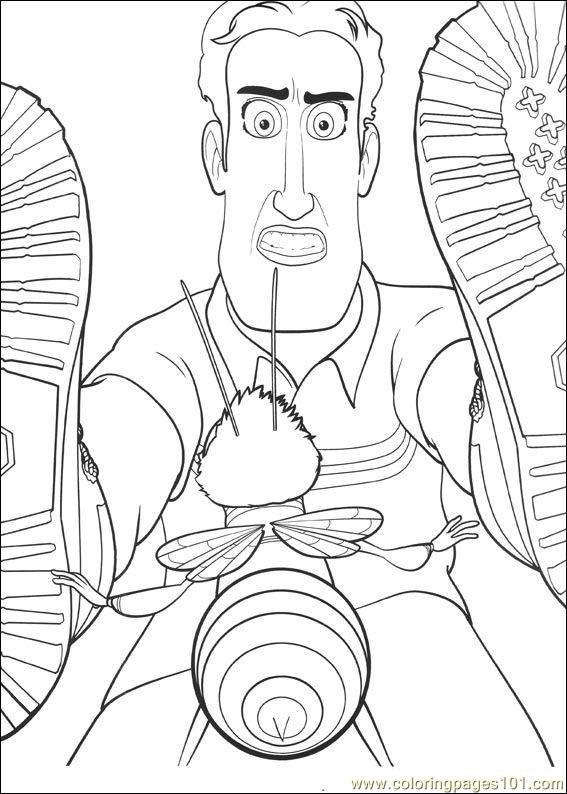 Bee Movie 19 Coloring Page