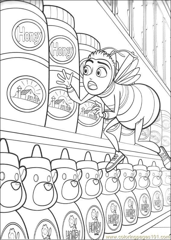 Bee Movie 23 Coloring Page