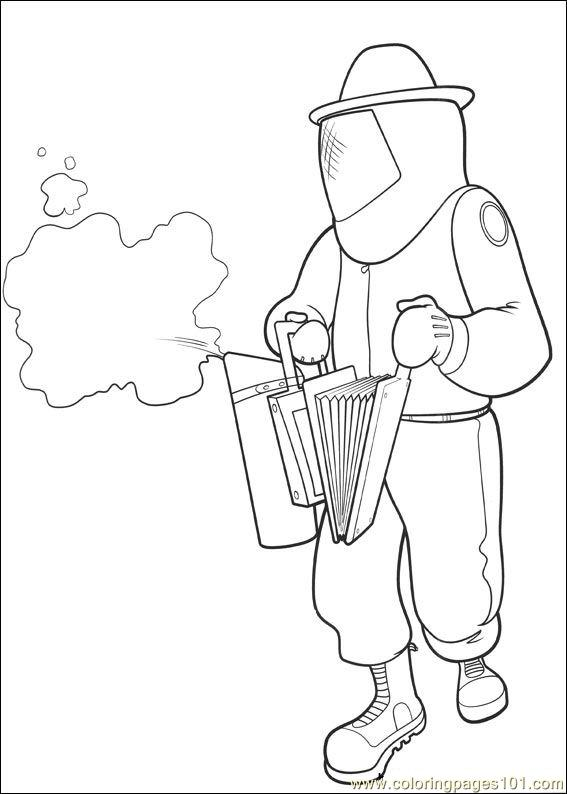 Bee Movie 25 Coloring Page
