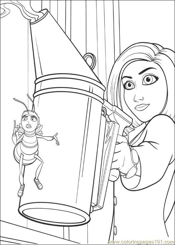 Bee Movie 33 Coloring Page