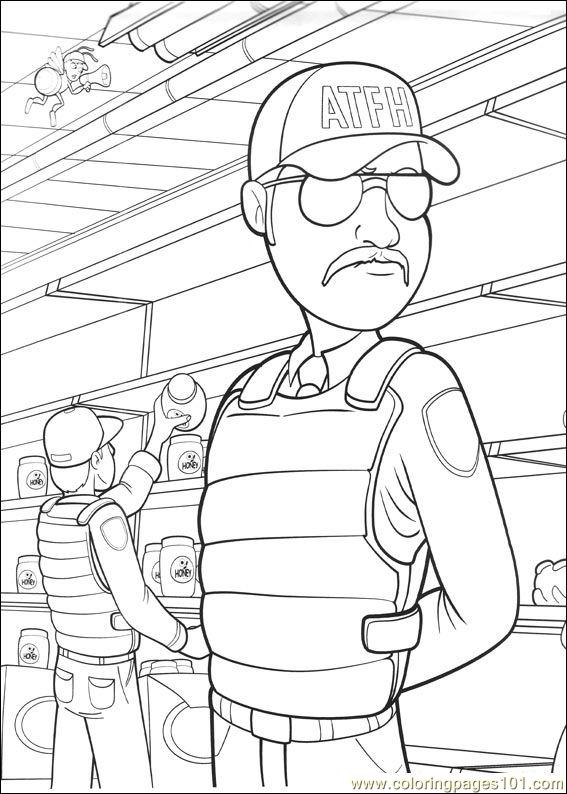 Bee Movie 34 Coloring Page