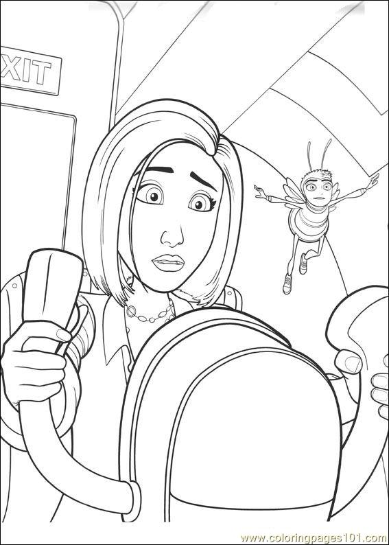 Bee Movie 38 Coloring Page