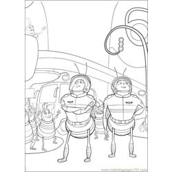 Bee Movie 11 coloring page
