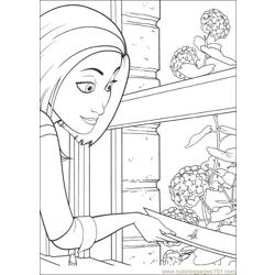 Bee Movie 20 coloring page