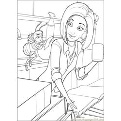 Bee Movie 29 coloring page