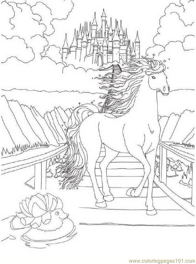 Bella Sara 08 Coloring Page Download