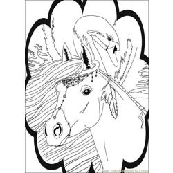 Bella Sara Coloring Pages 002 Free Coloring Page for Kids