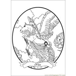 Bella Sara Coloring Pages 005