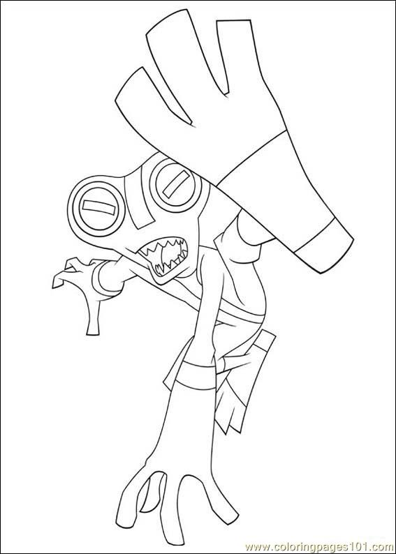 Heat blast coloring pages ~ Ben 10 Humungousaur Pages Coloring Pages