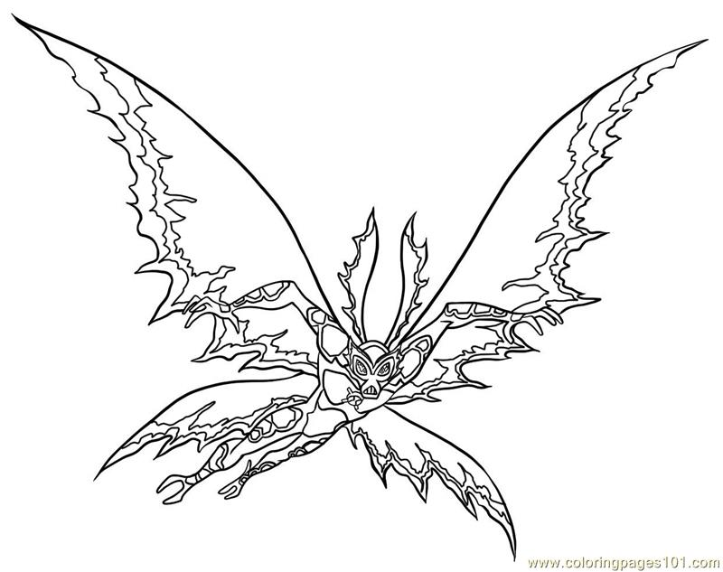 Stinkefly Coloring Page