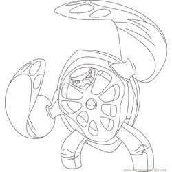 Terraspin coloring page