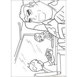 BEN TENNYSON GRANDPA MAX GWEN TENNYSON Coloring Page