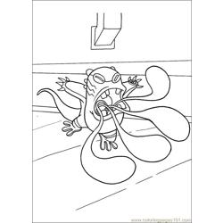 Ben10 62 Free Coloring Page for Kids