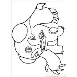 Ben10 68 Free Coloring Page for Kids