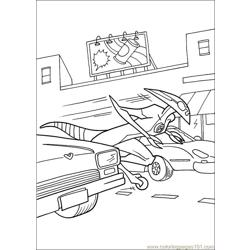 Ben10 69 Free Coloring Page for Kids