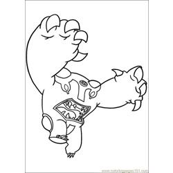 Ben10 76 Free Coloring Page for Kids
