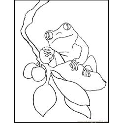 Berry coloring page