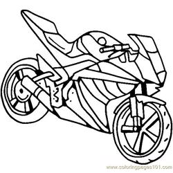 Yamaha Free Coloring Page for Kids