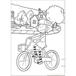 Iding Her Cycle Coloring Page