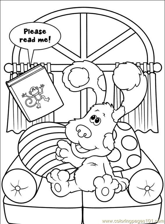 Blue's Clues coloring picture | 769x567