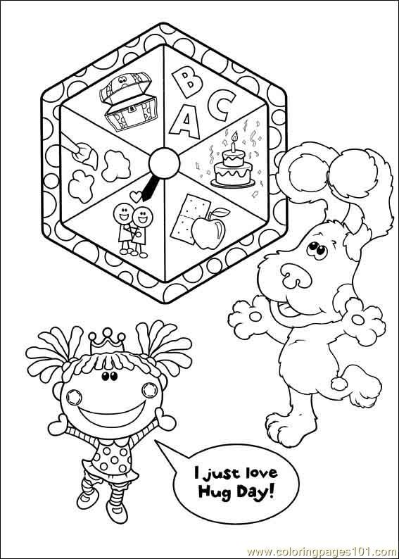Blues Clues 05 Coloring Page